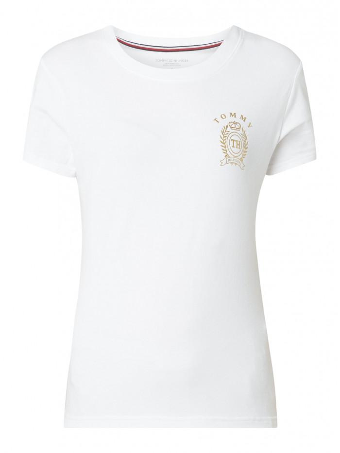 Dámské tričko Tommy Hilfiger CN Tee SS bílé