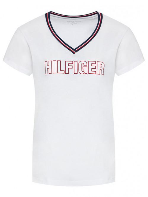 Dámské tričko Tommy Hilfiger CN SS Tee Regular Fit bílé