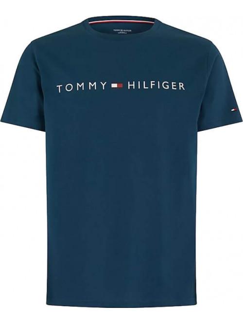 Pánské tričko Tommy Hilfiger Crew Neck Tee Logo modré