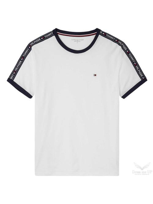 Pánské tričko Tommy Hilfiger  RN TEE SS bílé