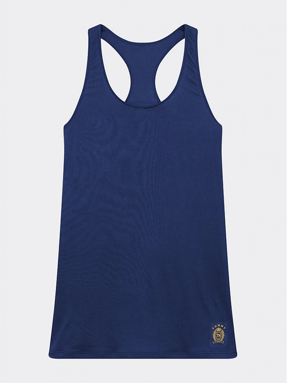 Dámské tílko Tommy Hilfiger Cool Logo Racerback Vest navy modré