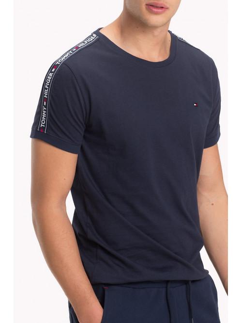 Pánské tričko Tommy Hilfiger  RN TEE SS navy