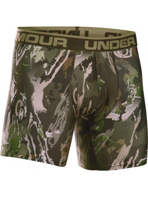 Pánské boxerky Under Armour BOXERJOCK camo zelené