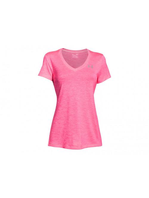 Dámské tričko Under Armour Tech Twist růžové