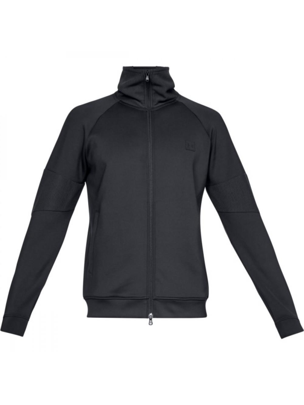 Pánská bunda Under Armour Perpetual Track Jacket Černá
