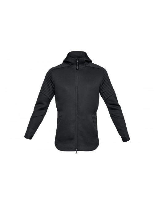 Pánská mikina Under Armour Unstoppable Move FZ Hoodie Black