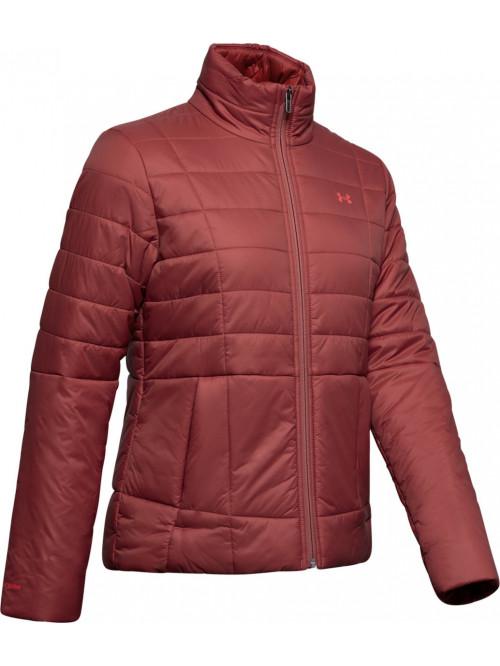 Dámska bunda Under Armour Insulated Jacket bordová