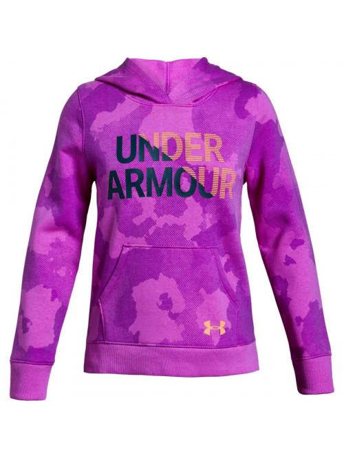 Dívčí mikina Under Armour Rival Hoody fialová