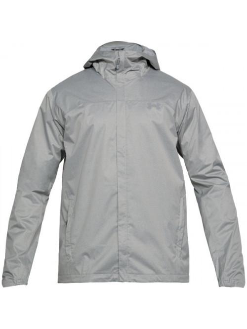 Pánská bunda Under Armour Overlook Jacket šedá