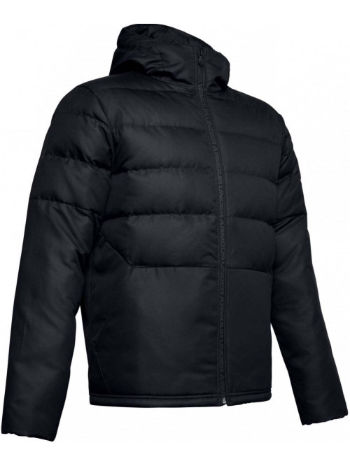 Pánská bunda Under Armour Sportstyle Down Hooded černá