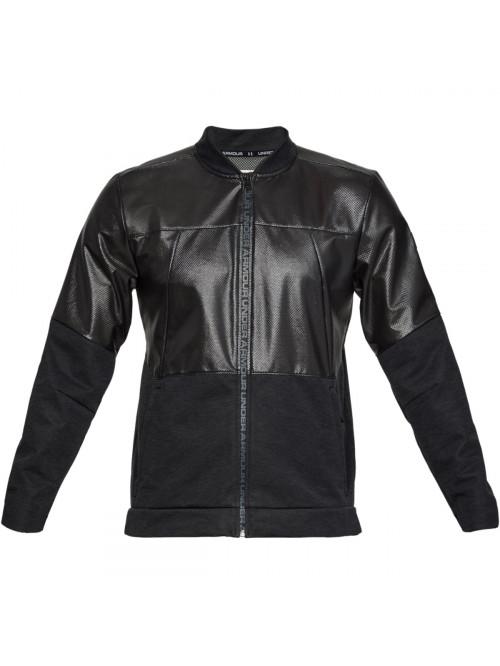 Pánská bunda Under Armour Unstoppable Swacket Bomber Jacket černá