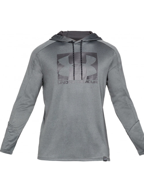 Pánská mikina Under Armour Lighter Longer Hoodie šedá