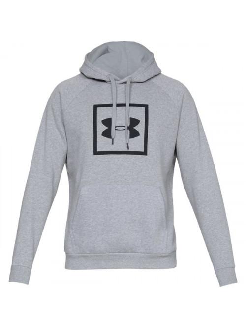 Pánska mikina Under Armour Rival Fleece Logo Hoodie šedá