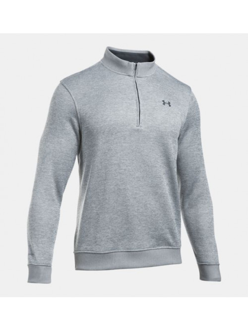 Pánský svetr Under Armour Sweater Fleece šedý