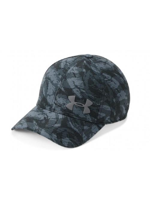 Kšiltovka Under Armour Airvent Core maskáčová černá