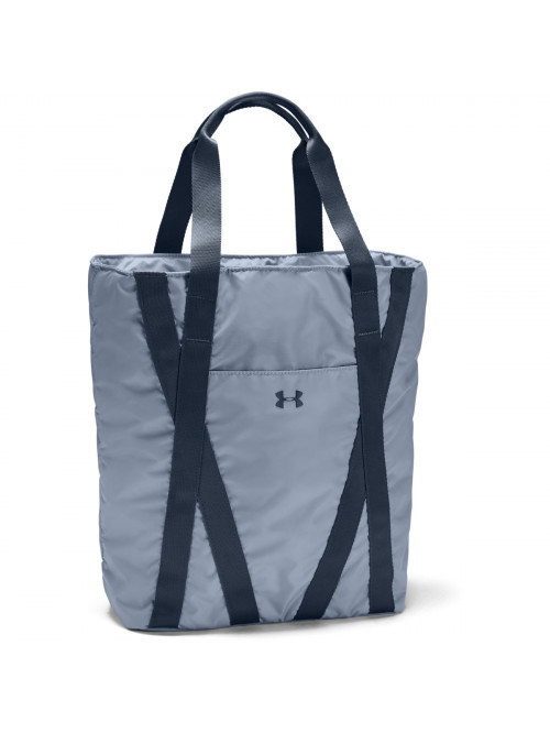 Dámská taška Under Armour Essentials Zip Tote modrošedá