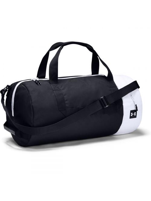 Sportovní taška Under Armour Sportstyle Duffel černo-bílá