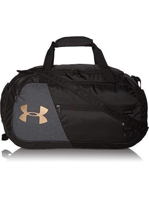 Sportovní taška Under Armour Undeniable Duffel 4.0 SM černo-šedá