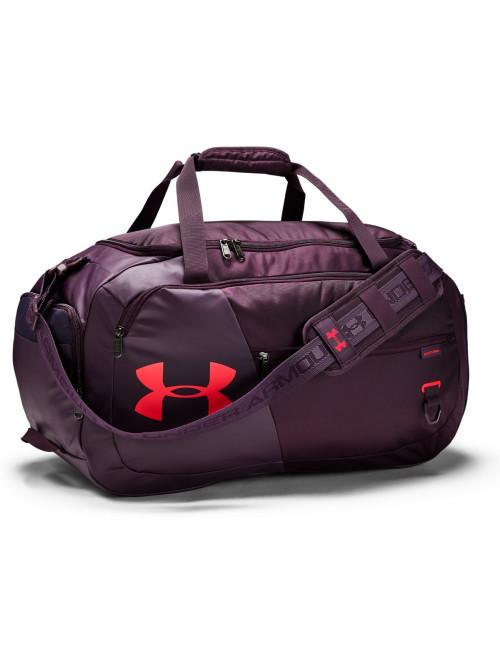 Sportovní taška Under Armour Undeniable Duffel 4.0 MD fialová