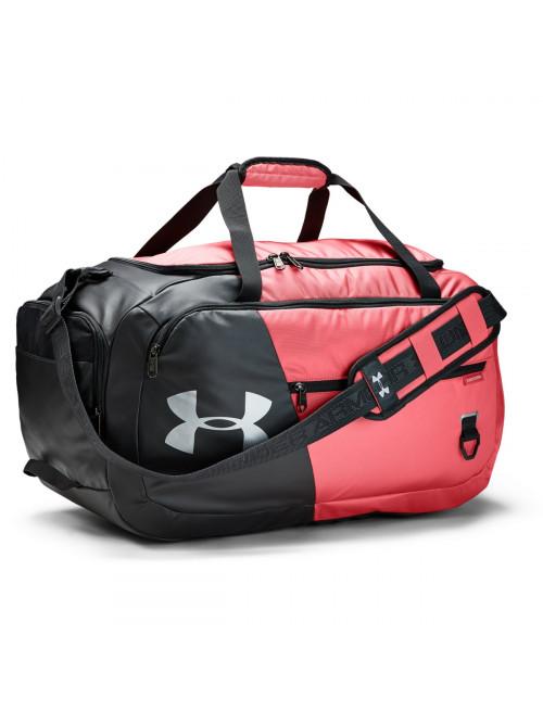Sportovní taška Under Armour Undeniable Duffel 4.0 MD černo-růžová