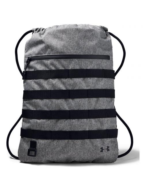 Sportovní batoh Under Armour Sportstyle Sackpack šedý