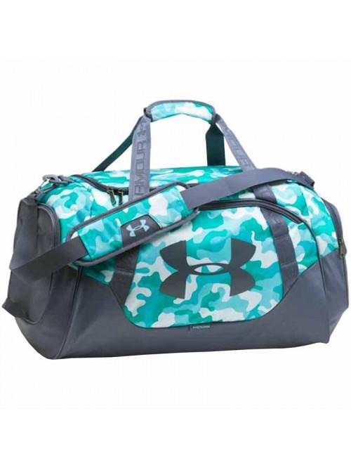 Sportovní taška Under Armour Undeniable Duffel šedo-zelená