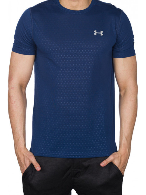 Pánské tričko Under Armour Threadborne tmavomodré