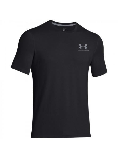 Pánske volní tričko Under Armour Left Chest Logo T...