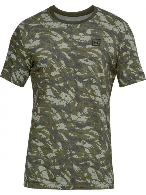 Tričko Under Armour AOP camo zelené