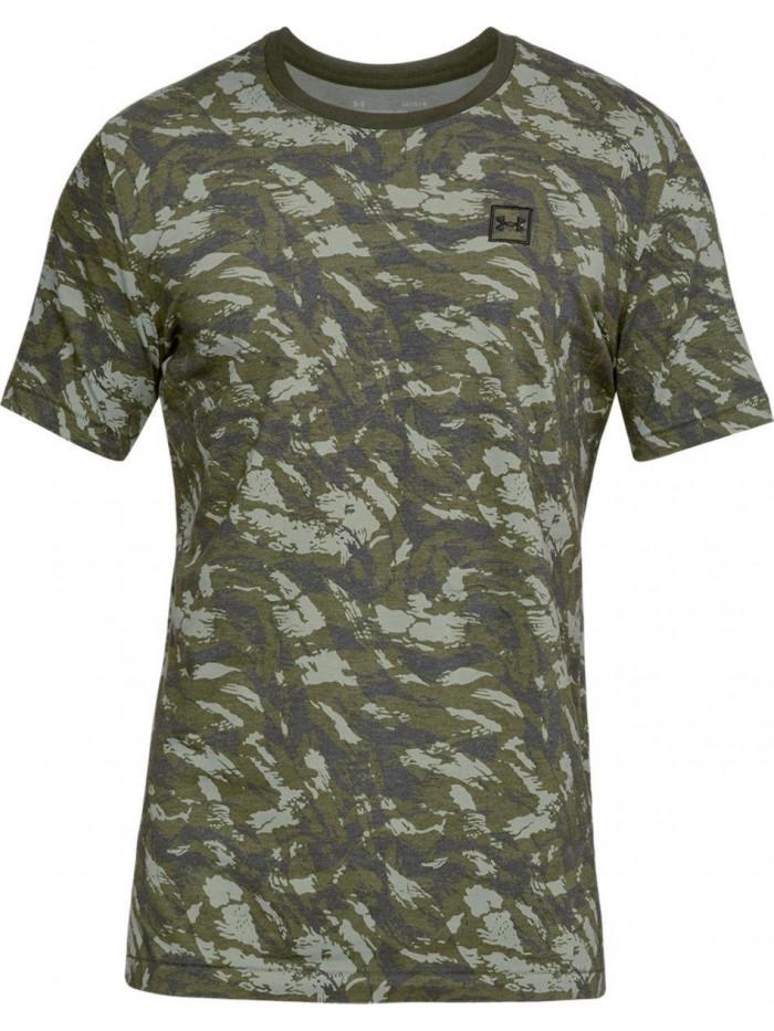 Tričko Under Armour AOP camo zelené