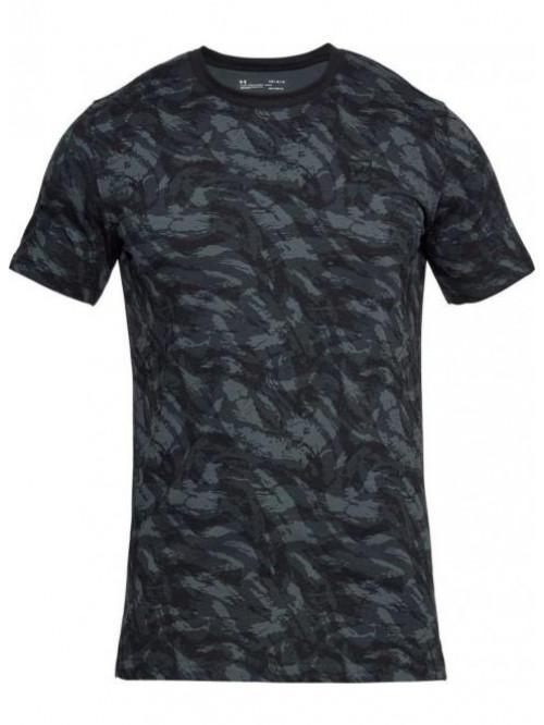 Tričko Under Armour AOP camo černé