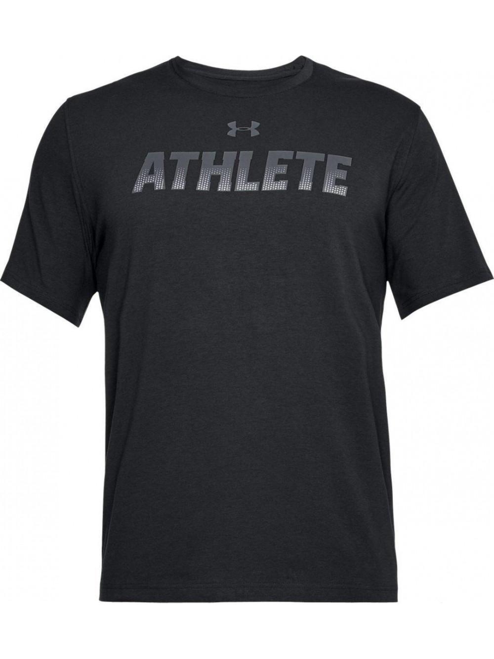 Tričko Under Armour Athlete černé