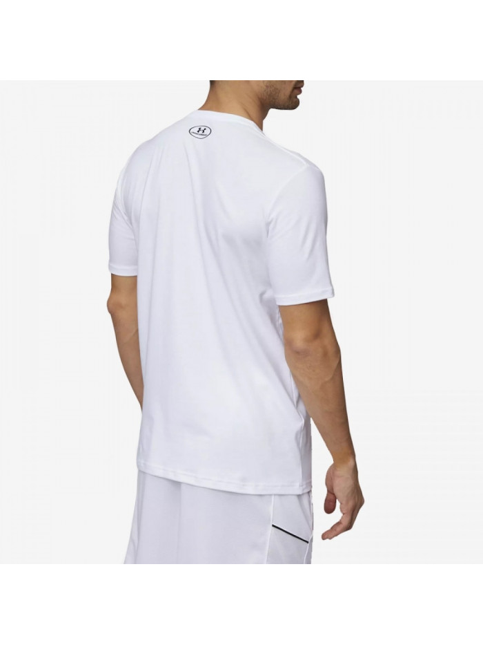 Pánské tričko Under Armour BBall Hard Work bílé
