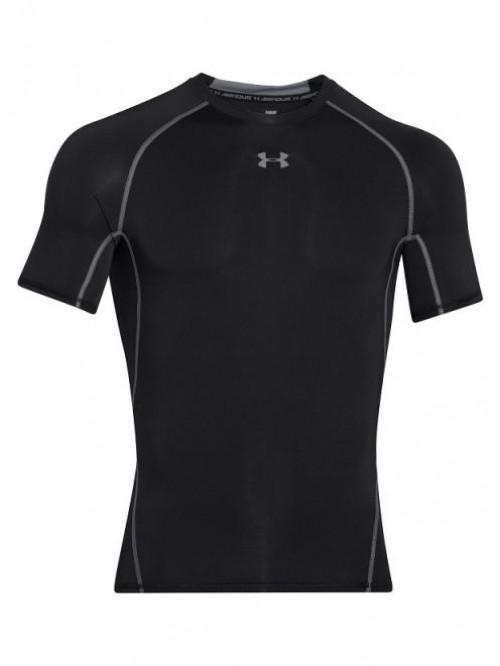 Pánské kompresní tričko Under Armour HeatGear Short Sleeve černé
