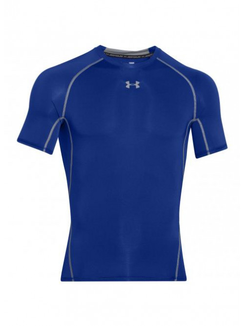 Pánské kompresní tričko Under Armour HeatGear Short Sleeve modré