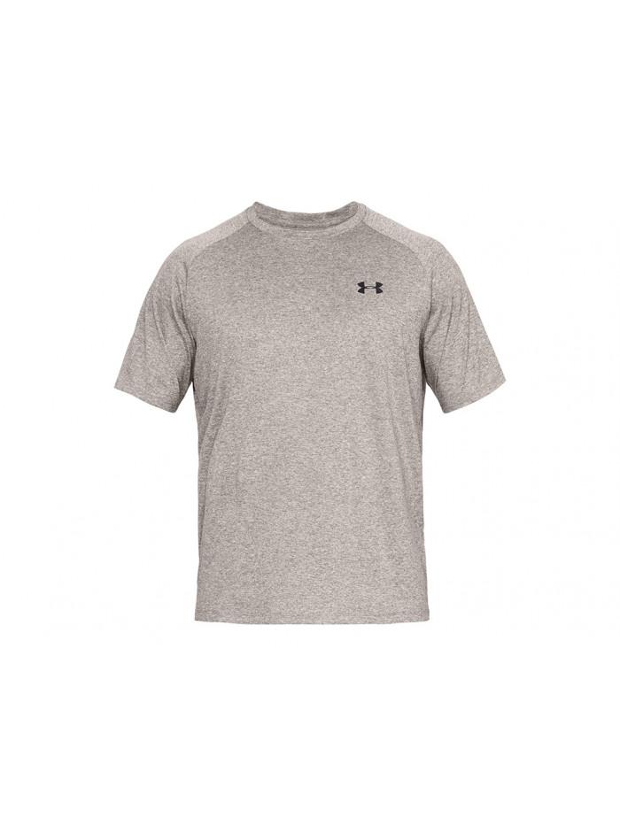 Pánské tričko Under Armour TECH 2.0 SS TEE hnedošedé