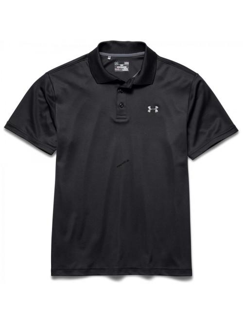 Tričko Under Armour Tech Polo černé