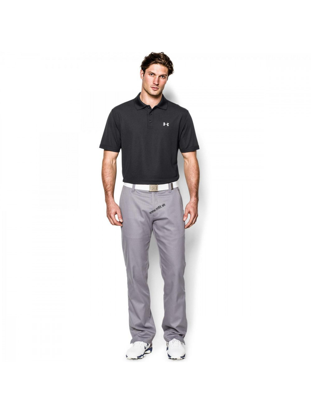 Tričko Under Armour Tech Polo černé