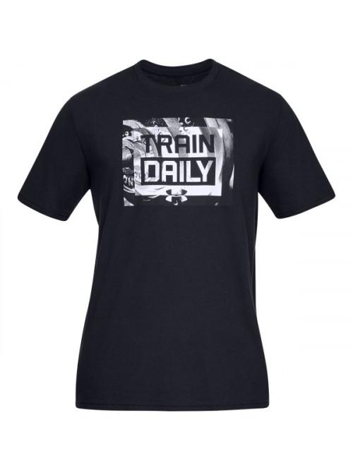 Tričko Under Armour Train Daily černé