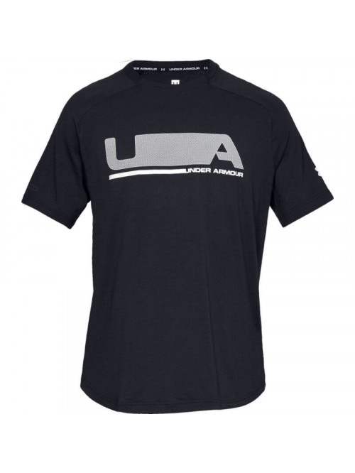 Tričko Under Armour Unstoppable Move SS T-shirt černé