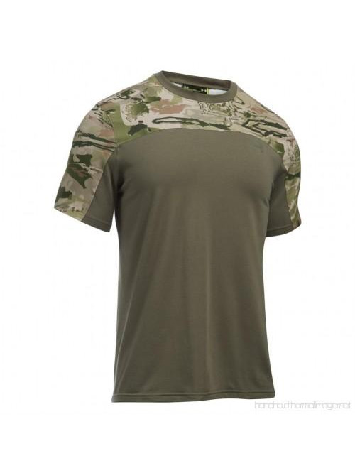 Tričko Under Armour Raid Tactical army zelená