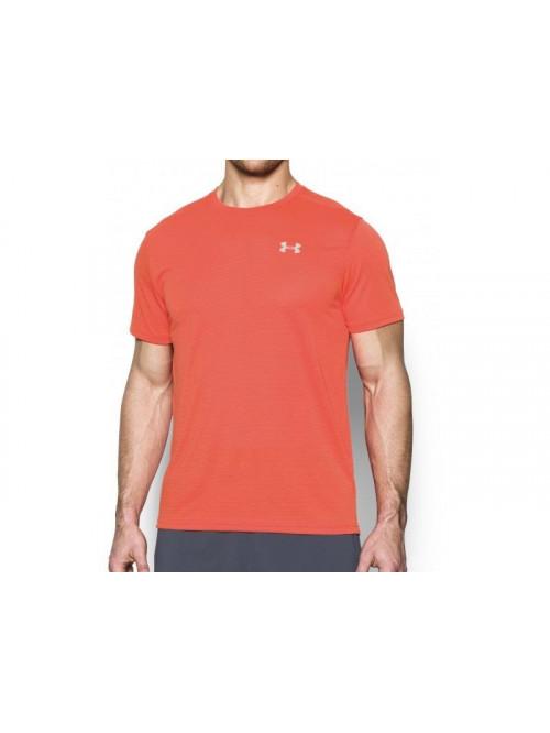 Tričko Under Armour Threadborne Run oranžové