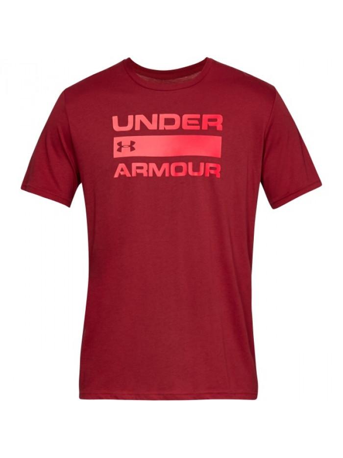 Tričko Under Armour Team Issue Wordmark červené