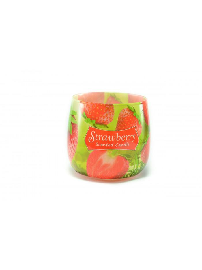 Voňavá svíčka Strawberry