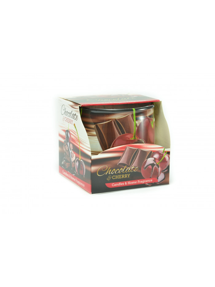Voňavá svíčka Chocolate & Cherry