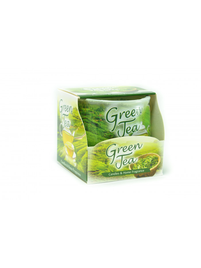 Voňavá meditační svíčka Green tea