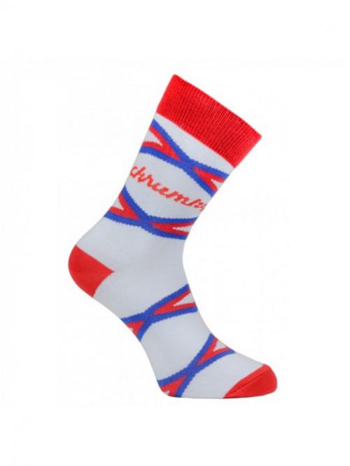 Ponožky Křupky FunnySOX červené