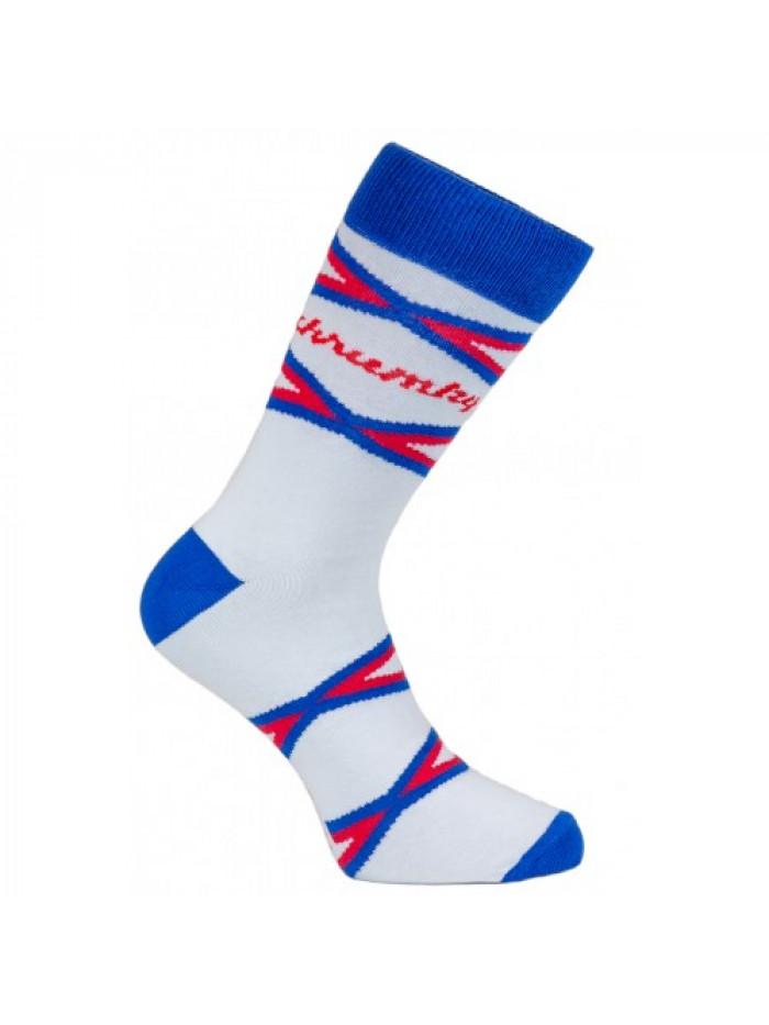 Ponožky Křupky FunnySOX modré