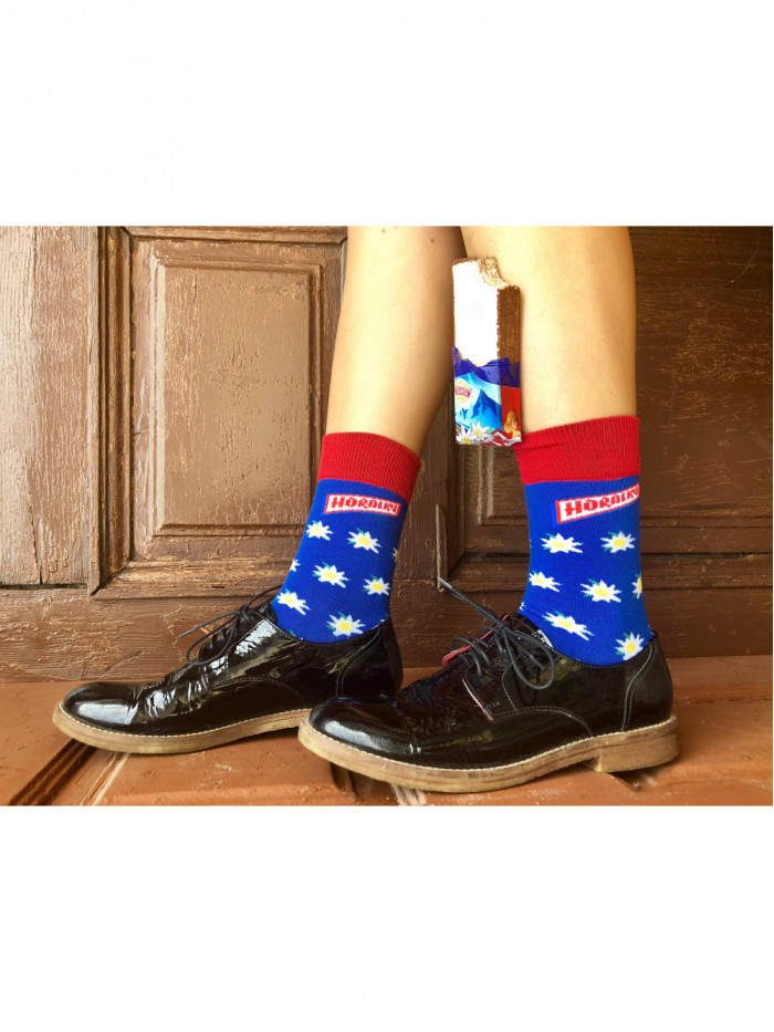 Ponožky Horalky FunnySOX modré