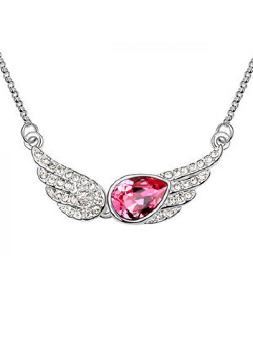 Andělská křídla náhrdelník s přívěskem